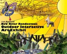 New River Rendezvous Interactive Art Exhibit